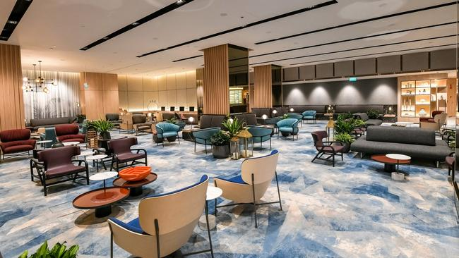 A look inside Jewel's new lounge, which will be open to anyone travelling out of Changi Airport.