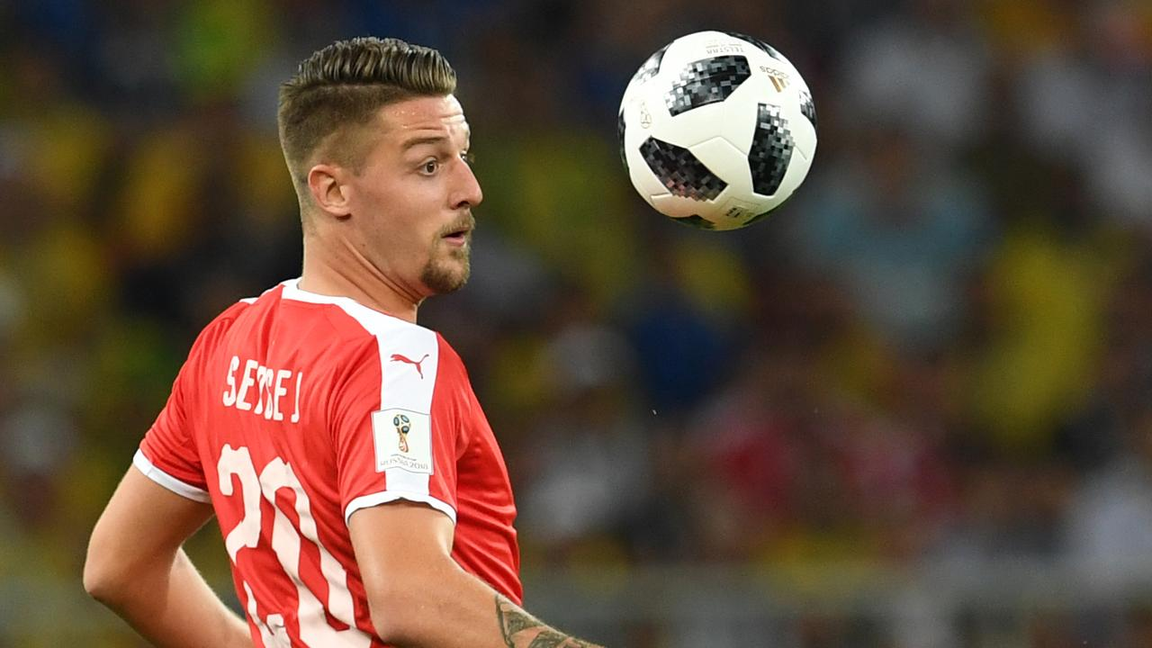 Sergej Milinkovic-Savic impressed for Serbia at the 2018 World Cup.