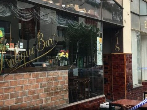 A man has died in custody shortly after being arrested at the Antique Bar in Elsternwick. Picture: Chanel Zagon