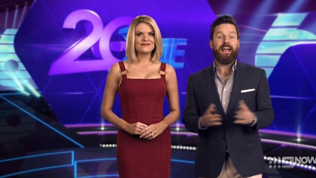 20 to One hosts Erin Molan and Nick Cody.
