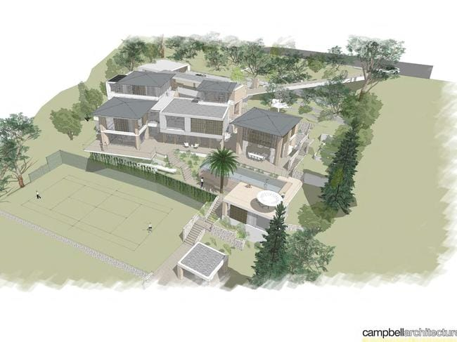 And council-approved plans for this multi-million masterpiece.