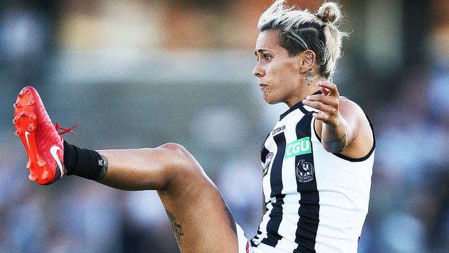 Mo Hope has been named on an extended bench for Collingwood. Picture: Getty