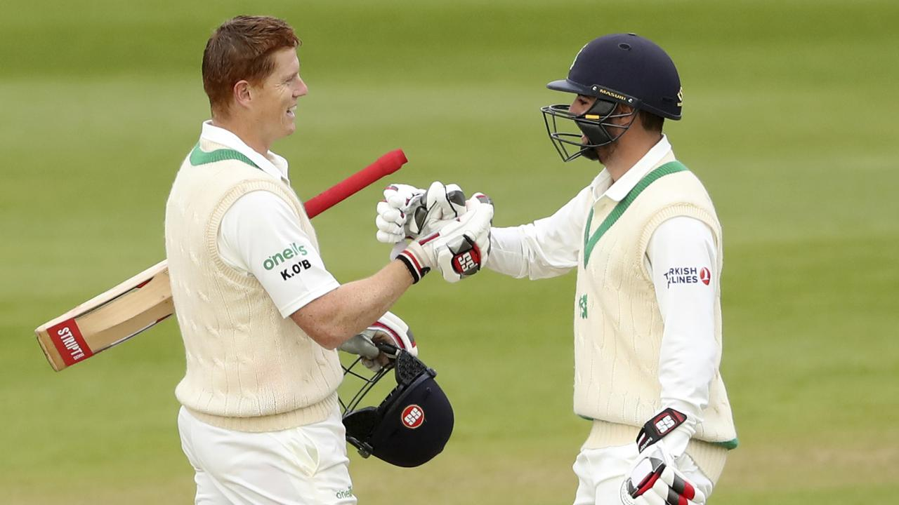 Kevin O'Brien hit a brave century.