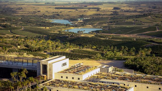 Bodega Garzon in Uruguay came in as the second best winery in the world Picture: PRNewsFoto/Bodega Garzon