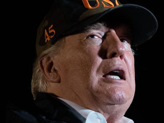 Donald Trump is grappling with a serious crisis, and he's lashing out in response. Picture: Saul Loeb / AFP