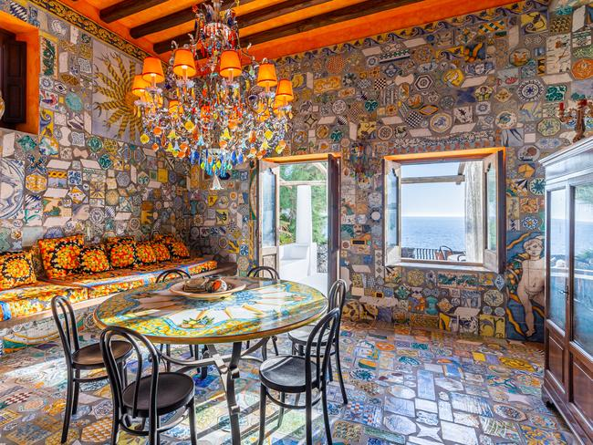Inside the amazing Dolce & Gabbana pad. Picture: Lionard Luxury Real Estate.