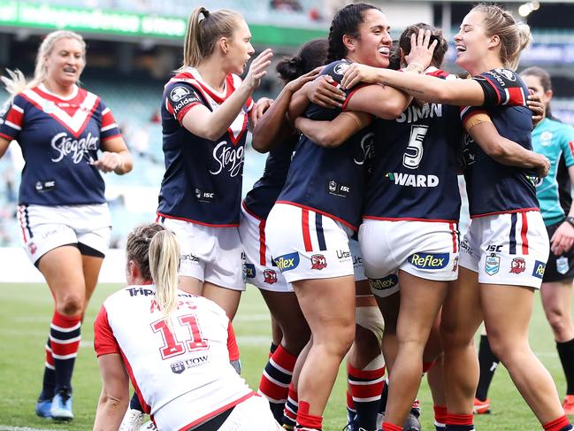 Robinson believes a pathway to the elite level must exist for women. Pic: Getty Images