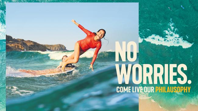 The campaign aims to sell Australia's lifestyle to the world. Picture: Tourism Australia