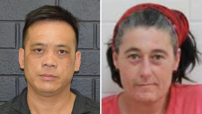 Phu Tran and Claire Hockridge who have been missing in a remote area south of Alice Springs.