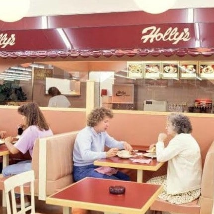 The chain's throwback posts sparked a demand from fans to 'bring back Holly's' — a cheap cafe that used to feature in stores.