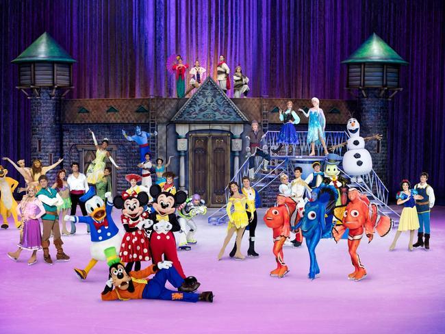 Disney On Ice celebrates 100 years of magic. Picture: Disney