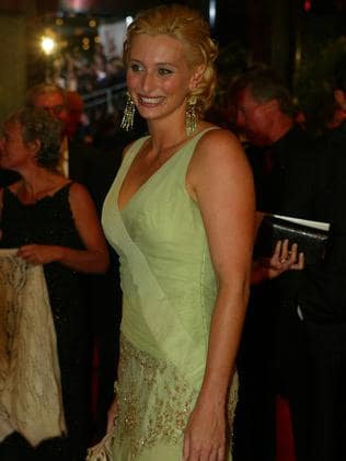 Johanna Griggs at the 2004 Logie Awards.