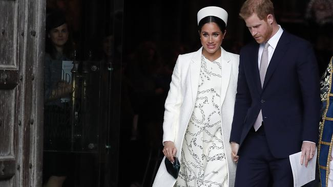 Meghan has reportedly fled to Canada. Picture: AP/Frank Augstein