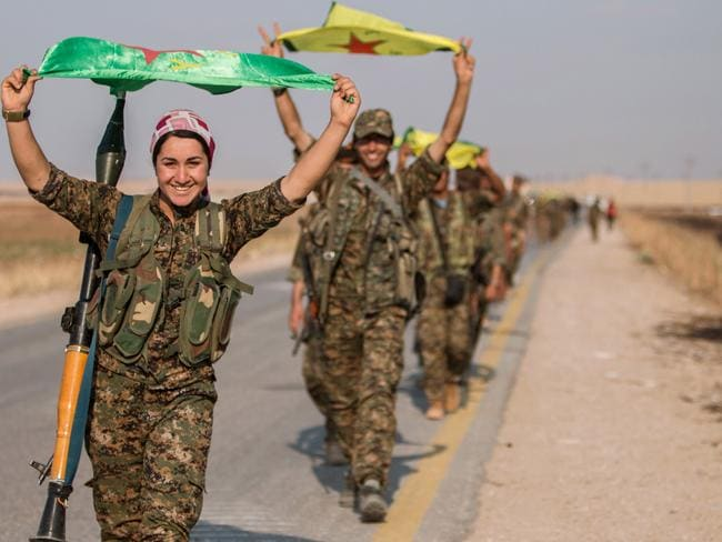 Syrian Kurds effectively control some 400km of the Syrian-Turkish border that has been a conduit for foreign fighters joining Islamic State.