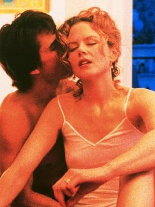 In 1999's Eyes Wide Shut, their final film together.