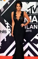 Vicky Pattison attends the MTV EMA's 2015 at the Mediolanum Forum on October 25, 2015 in Milan, Italy. Photo by Anthony Harvey/Getty Images for MTV