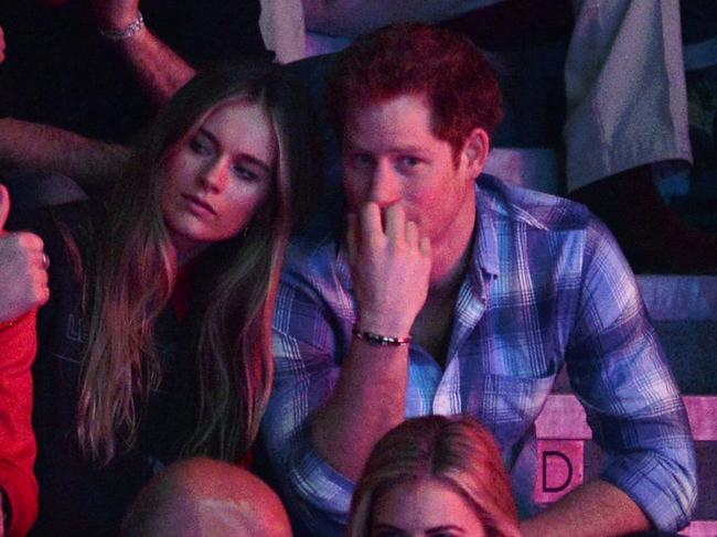 Cressida Bonas and Prince Harry at their first public outing. Picture: Karwai Tang/WireImage