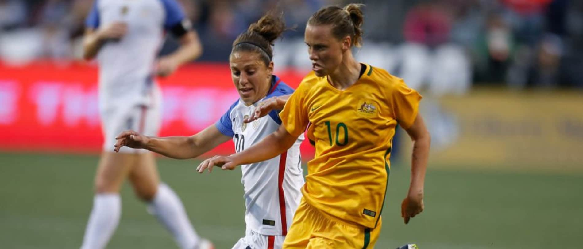 The Matildas will take on the US in April.