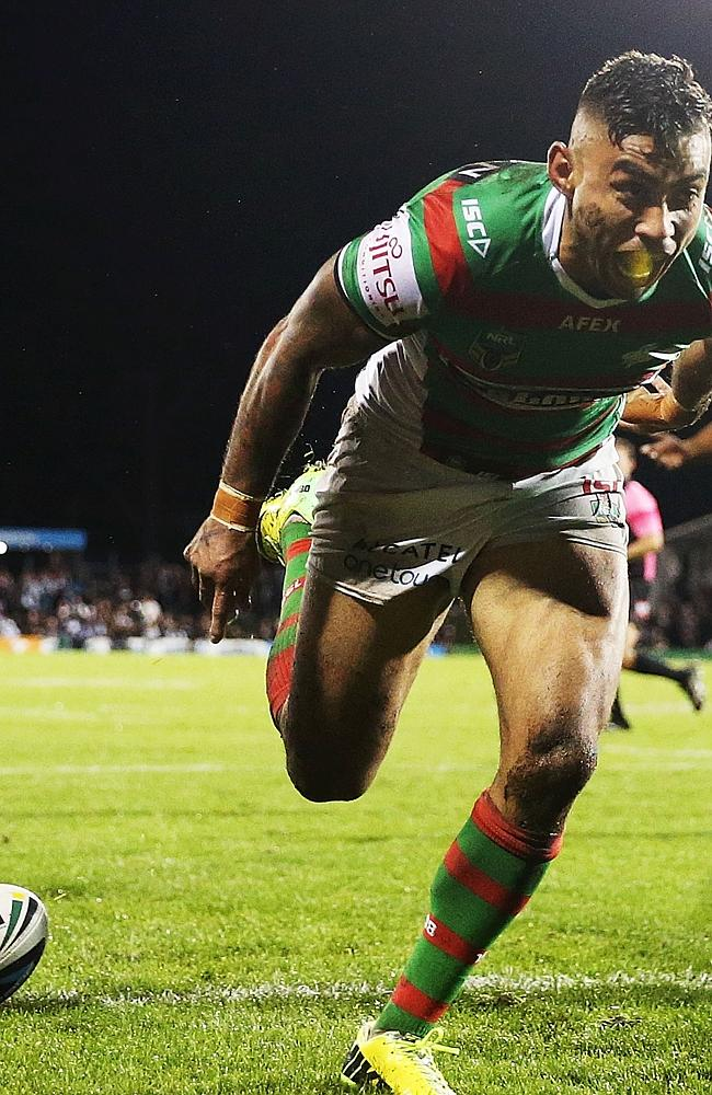 Nathan Merritt scores his 145th try for Souths.