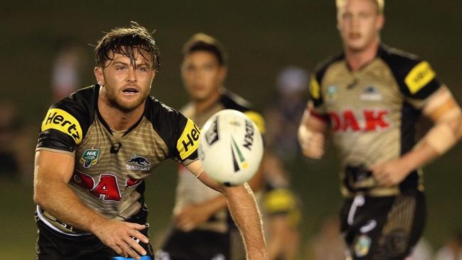 Mitch Rein has yet to start an NRL game for the Panthers. Picture: Jenny Evans