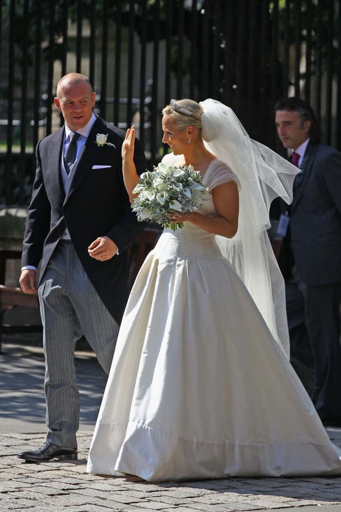 Inside Zara Phillips and Mike Tindall's 2011 wedding