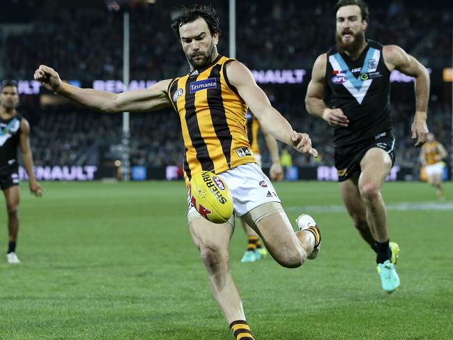 What does Jordan Lewis' exit mean for Hawthorn? Picture: Sarah Reed.