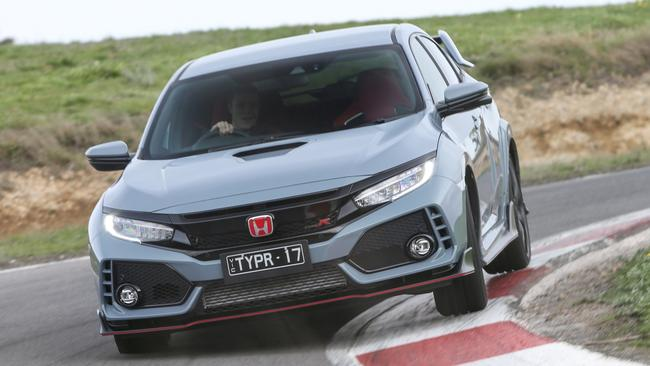 The Honda is as accomplished on the track as it is on the road. Pic: Supplied.