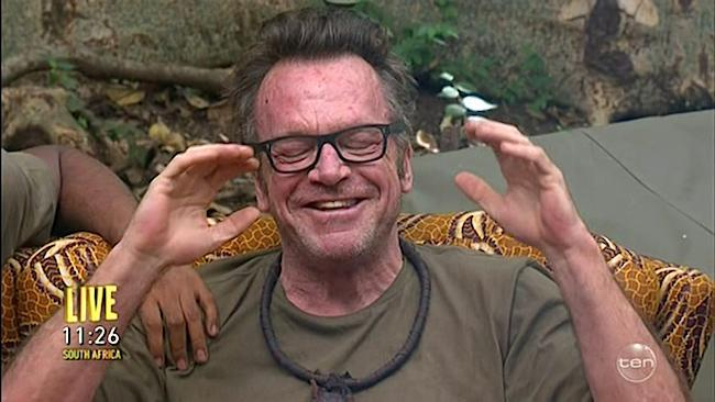 Tom Arnold leaves the jungle