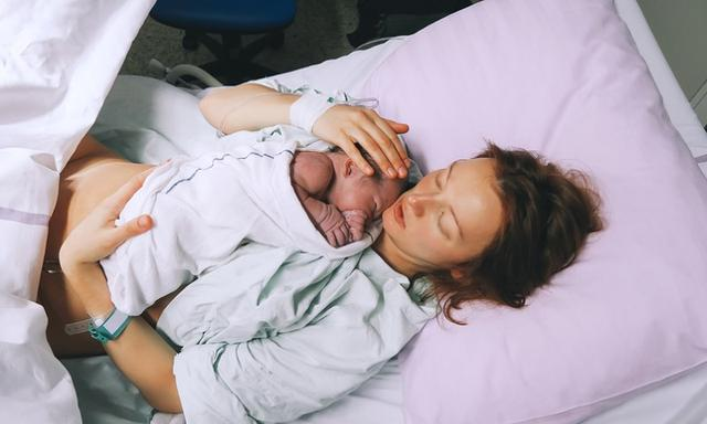 Injection to birth the placenta