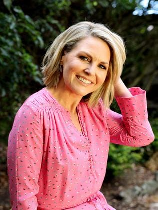 Georgie Gardner at the Channel 9 offices in Willoughby, Sydney.