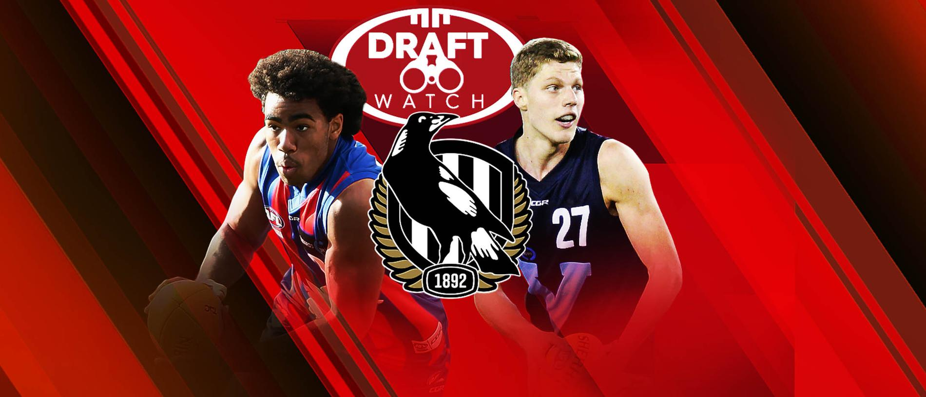 Isaac Quaynor and Will Kelly are two players tied to Collingwood.