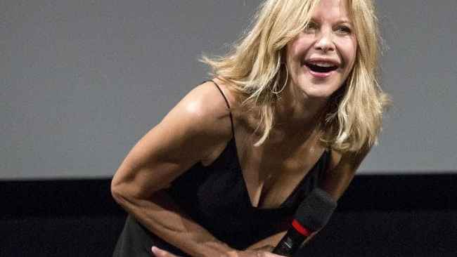 If anyone knows how Meg Ryan gets such toned Sarah-Connor-in-Terminator arms, please let us know. Source:AP