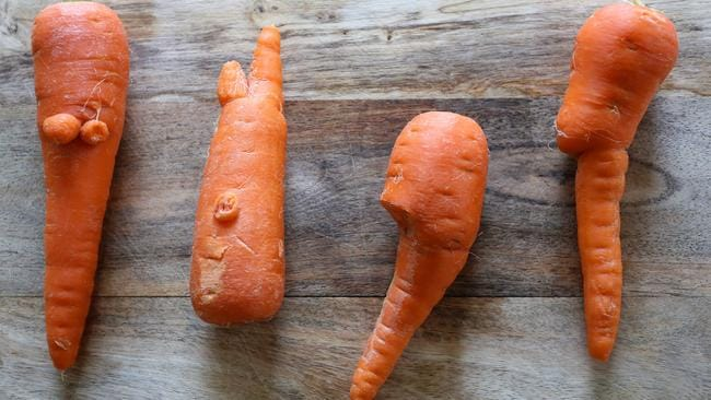 Woolworths has enjoyed success with its Odd Bunch-branded knobbly veg.