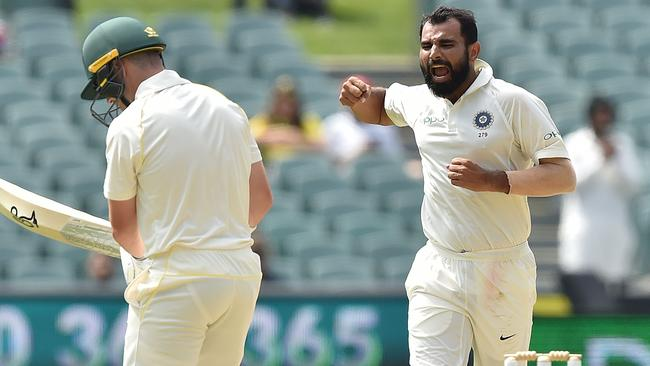 Mohammed Shami has been a revelation for India in Adelaide.