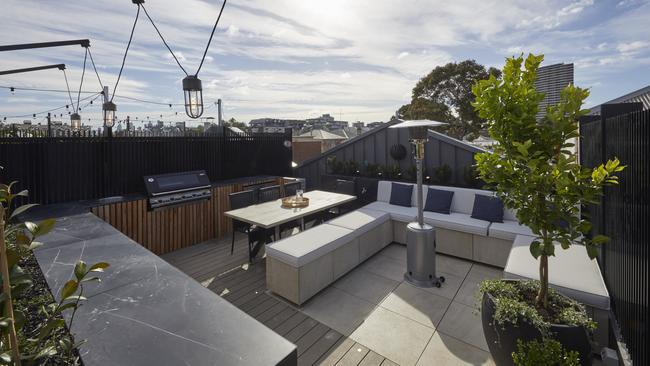 The judges thought Jesse and Mel used the space in a clever way. Picture: The Block