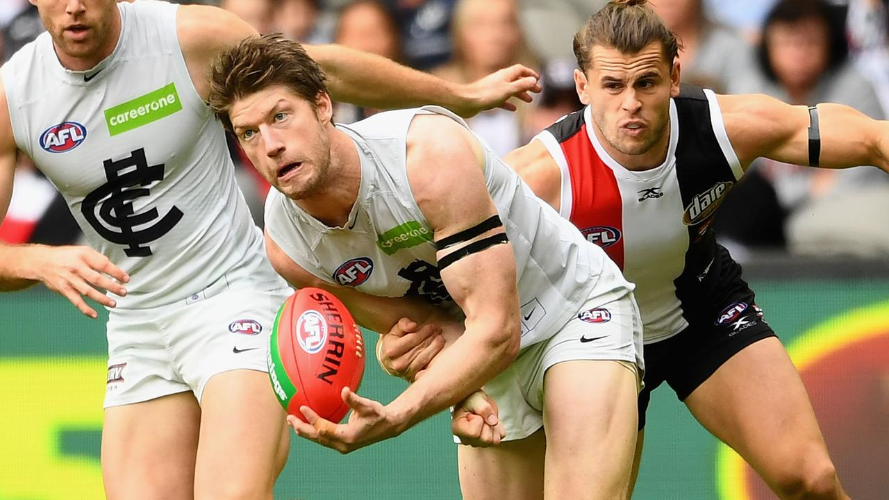 Sam Rowe has played 99 AFL games.