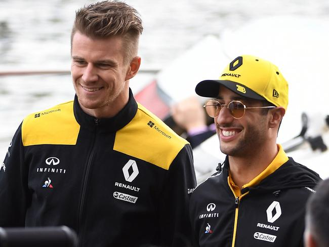 Nico Hulkenberg senses a changing of the guard with Daniel Ricciardo.