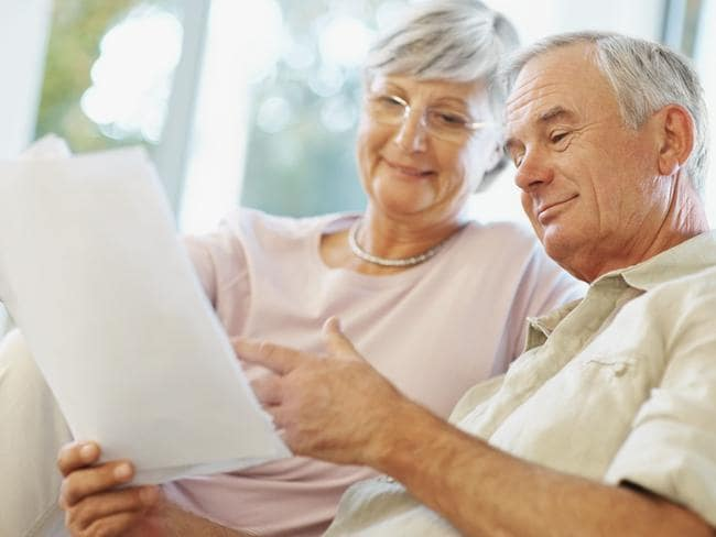 Many factors contribute to one's death ... A couple check their plans for retirement. Picture: Thinkstock