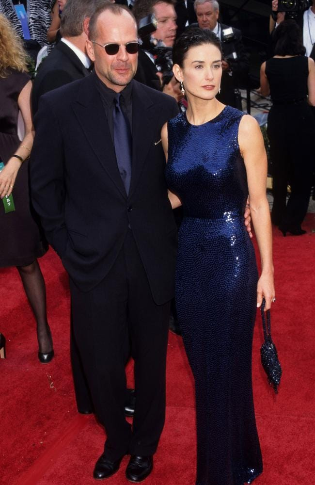 Bruce and Demi were red carpet regulars in the 90s. Picture: Ke.Mazur/WireImage