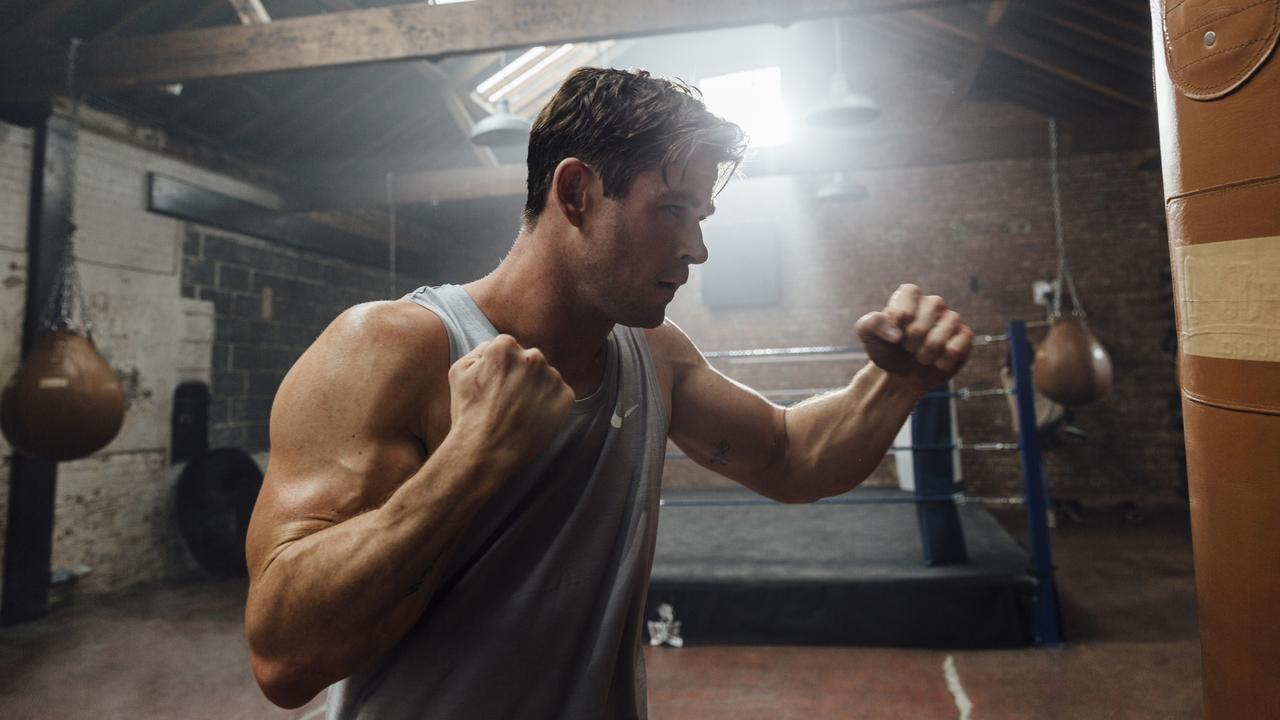 Chris Hemsworth launches app fit for the gods
