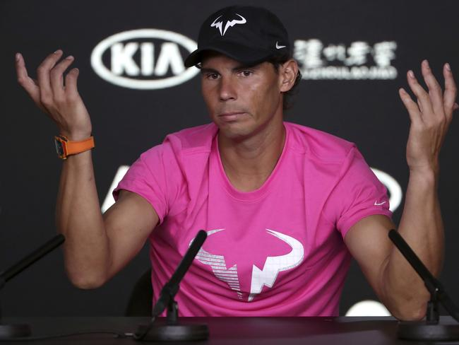 Nadal said Murray is doing the right thing for his mental health.