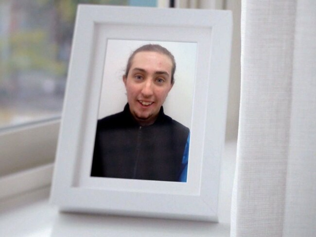 Murder victim Aaron Pajich-Sweetman. Picture: Sunday Night / Seven