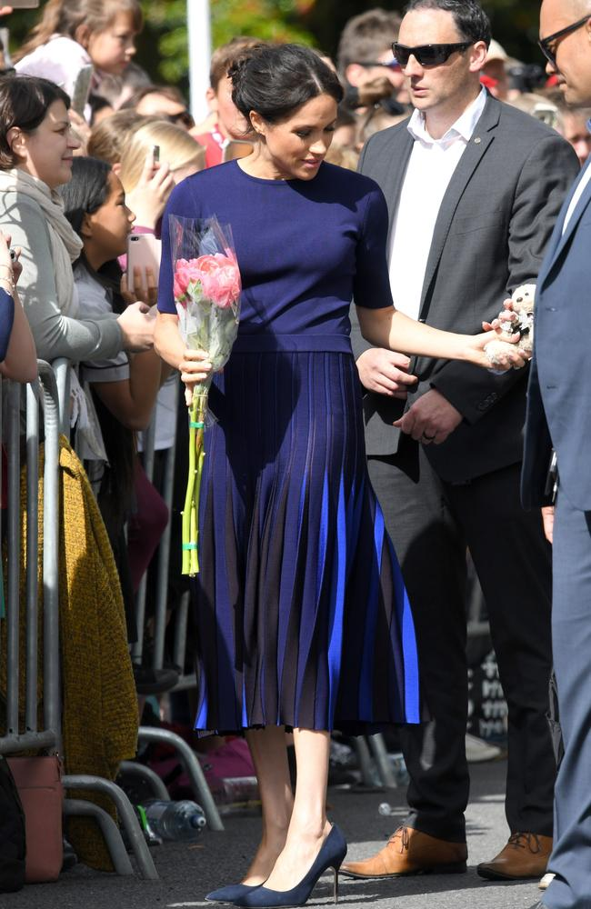 95e89bac7c She's certainly going out with a bang on this royal tour. Picture: Karwai  Tang