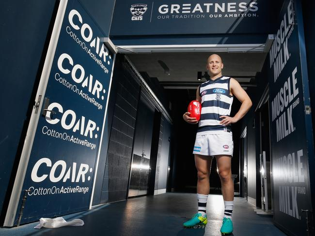 Gary Ablett is back at Geelong.
