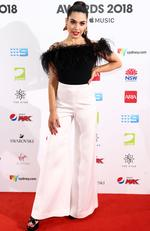 Tori Wade arrives for the 32nd Annual ARIA Awards 2018 at The Star on November 28, 2018 in Sydney, Australia. (Photo by Mark Metcalfe/Getty Images)