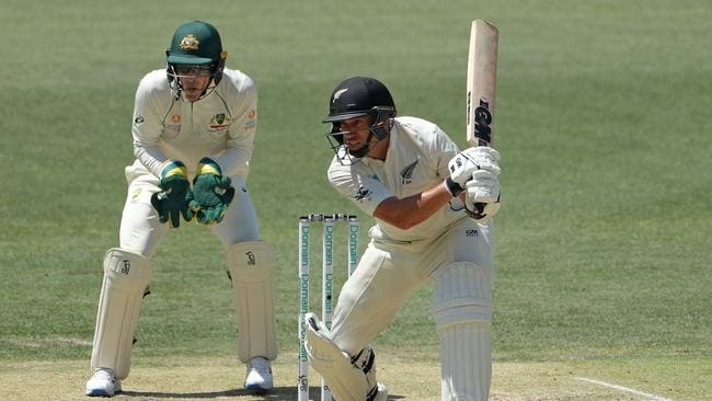 Ross Taylor top scored for New Zealand in the first innings.