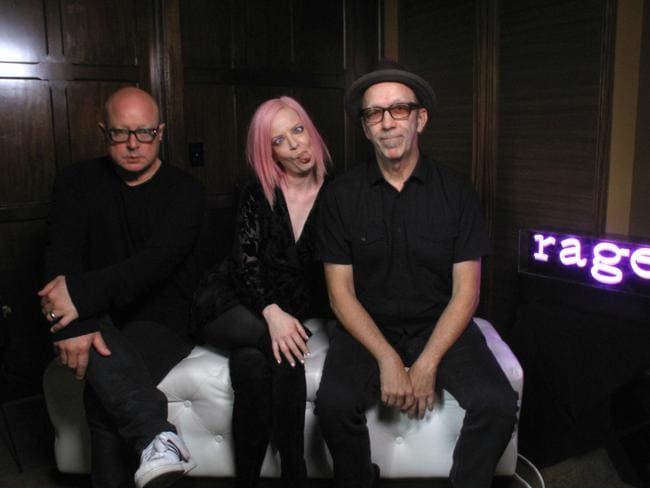 International band Garbage cleared out an hour in their schedule to program Rage last year.