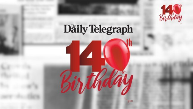 The Daily Telegraph celebrates 140 years: Why the Tele is so important to Sydney