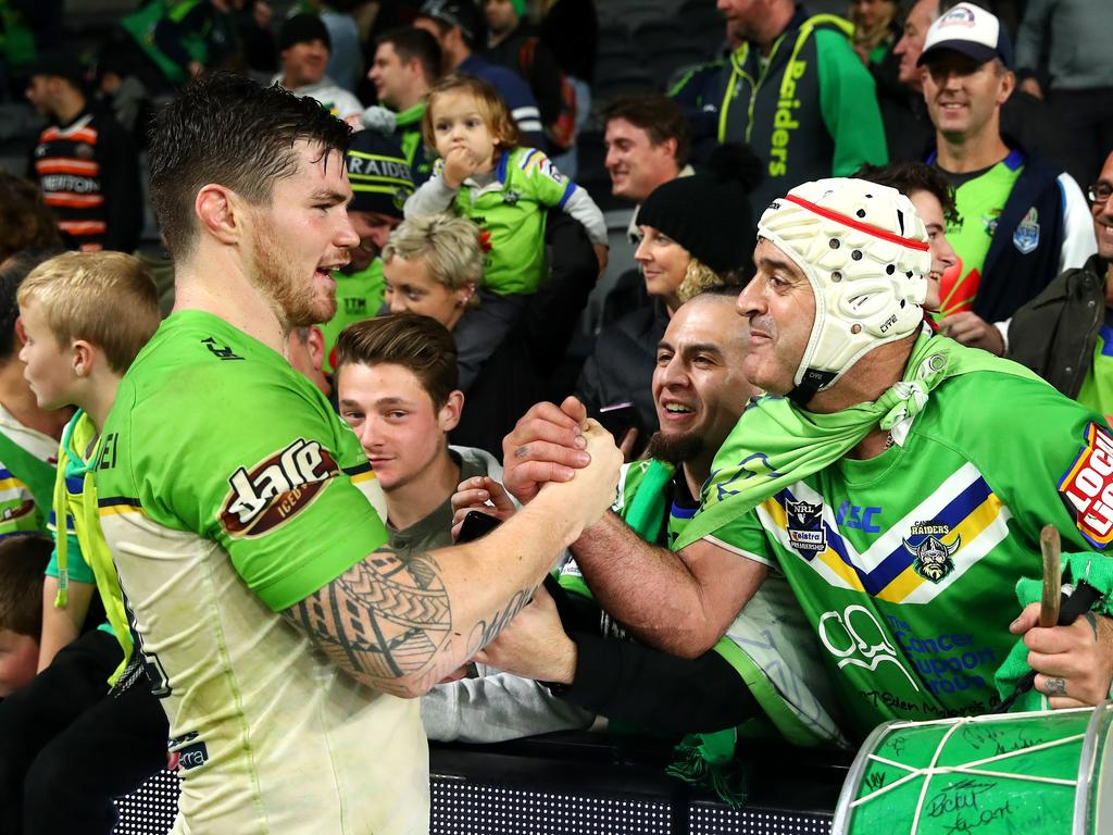 John Bateman of the Raiders has become a fan favourite and SuperCoach stud.
