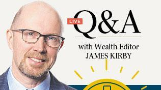Get your superannuation questions answered by James Kirby
